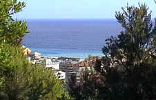 View of Deiva Marina from the hills